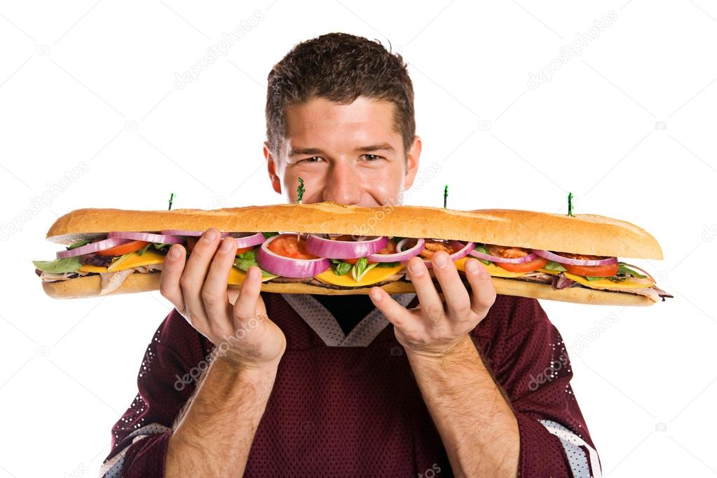 Image result for eat a giant sandwhich""