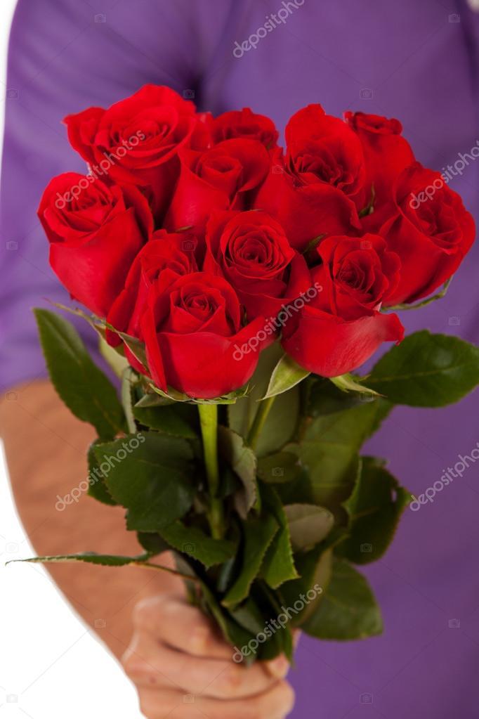ett dussin rosor