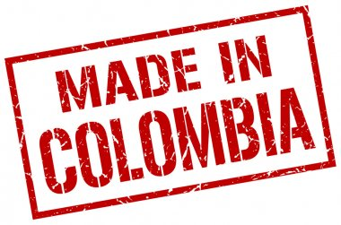 made in Colombia stamp