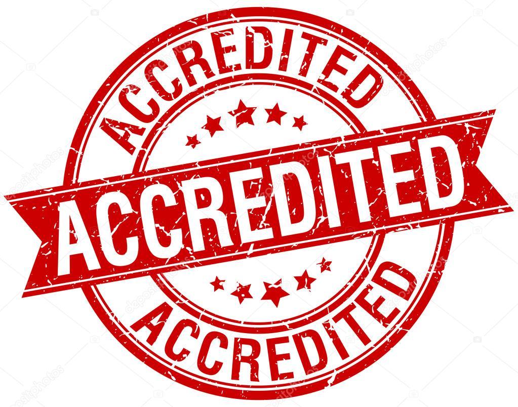 Resultado de imagen de sello de acreditación