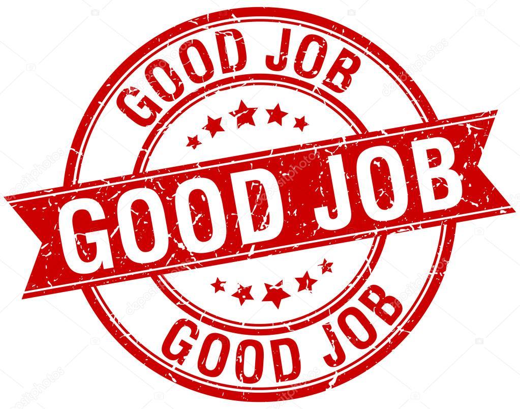 Wektory stockowe: good job stamp, gwarancja na plombę - rysunki, obrazy,  ilustracje | Depositphotos