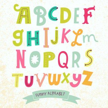 Bright alphabet set i
