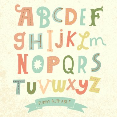 Bright alphabet set i