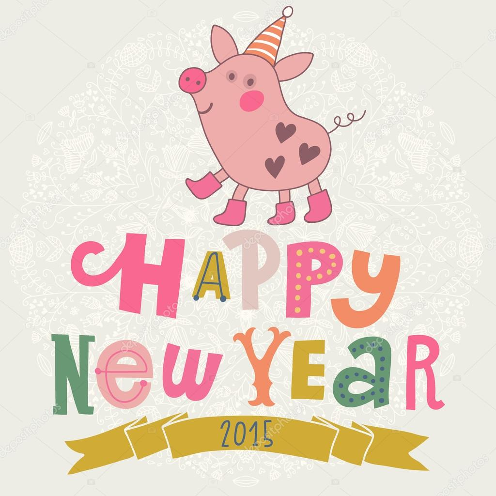 New Year Pig 28 Images Happy New Year Happy New Year