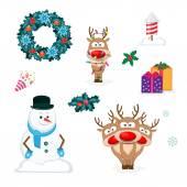 sada Vánoce a nový rok