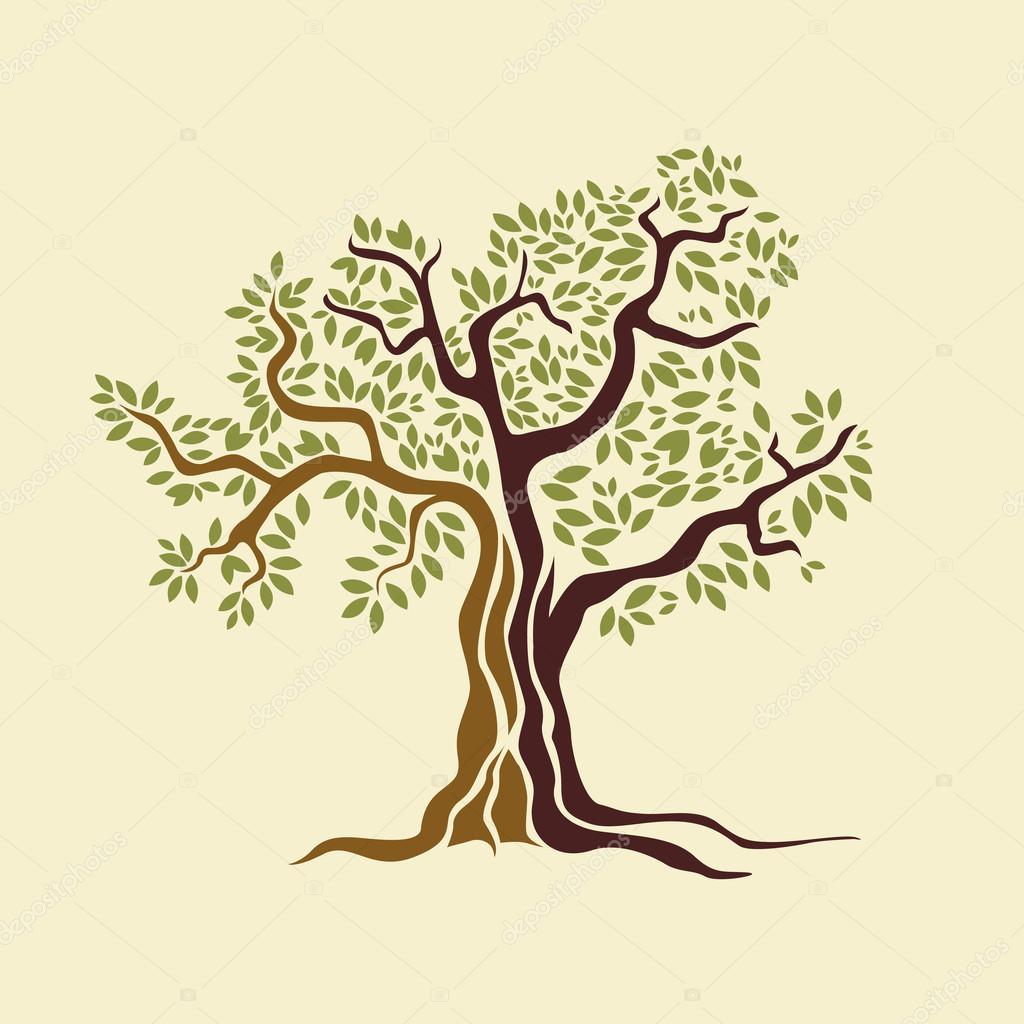olive tree vector illustration stock vector Olive Branch Athena Olive Branch Art