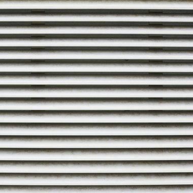 Ventilation shaft close-up