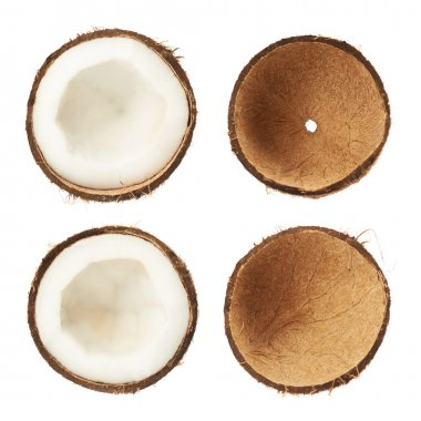 Coconut sliced