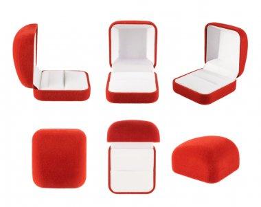 Red velvet box