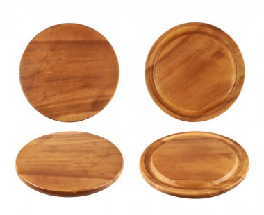Wooden tray salver