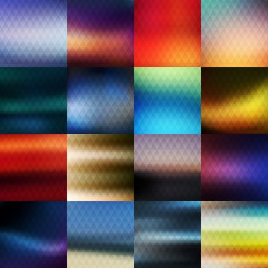 Multiple vector backgrounds