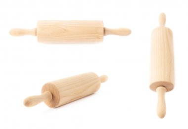 Small wooden rolling pins