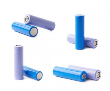 Two rechargeable batteries
