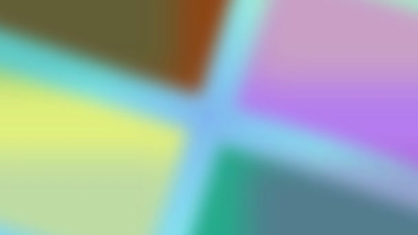 colored shapes background