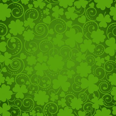 St. Patricks Day seamless pattern