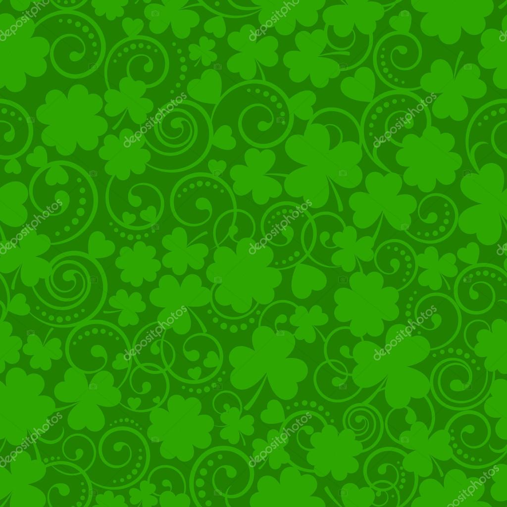 St. Patricks Day seamless pattern