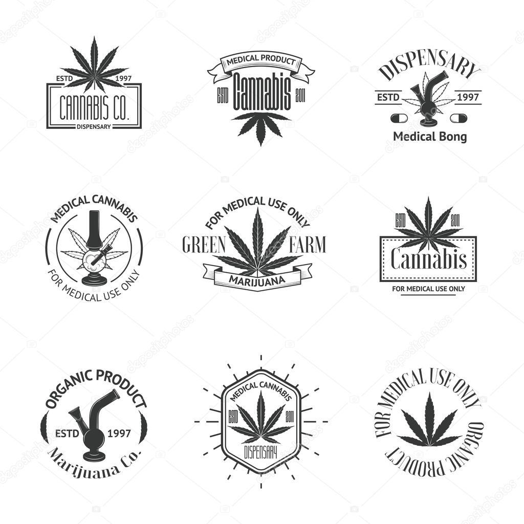 Marijuana stock vectors royalty free marijuana illustrations set of medical marijuana logos cannabis badges labels and logos royalty free stock illustrations biocorpaavc Choice Image