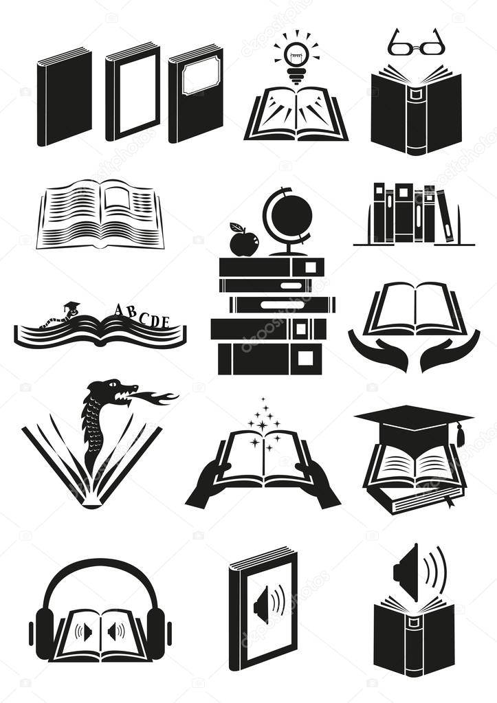 Set Of Books Or Novels With Different Theme Editable Clip Art Stock Vector Image By C Crystaleyemedia 113217082