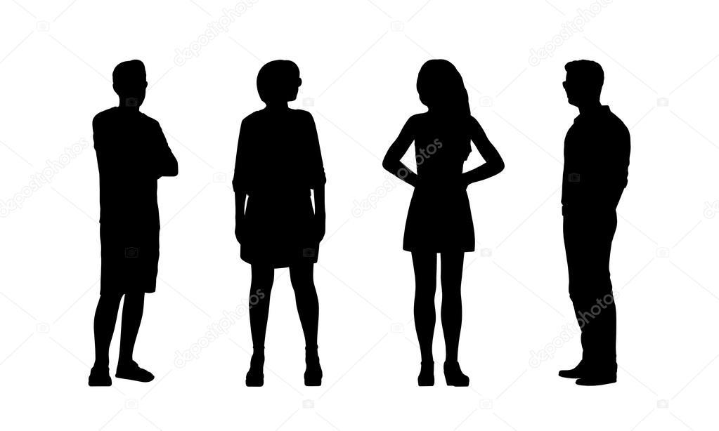 fotos persona perfil silueta al aire libre siluetas de personas