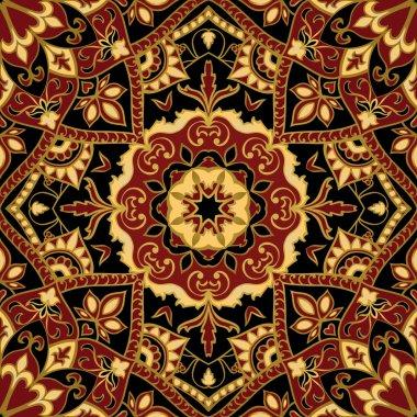 Stylized medieval pattern.
