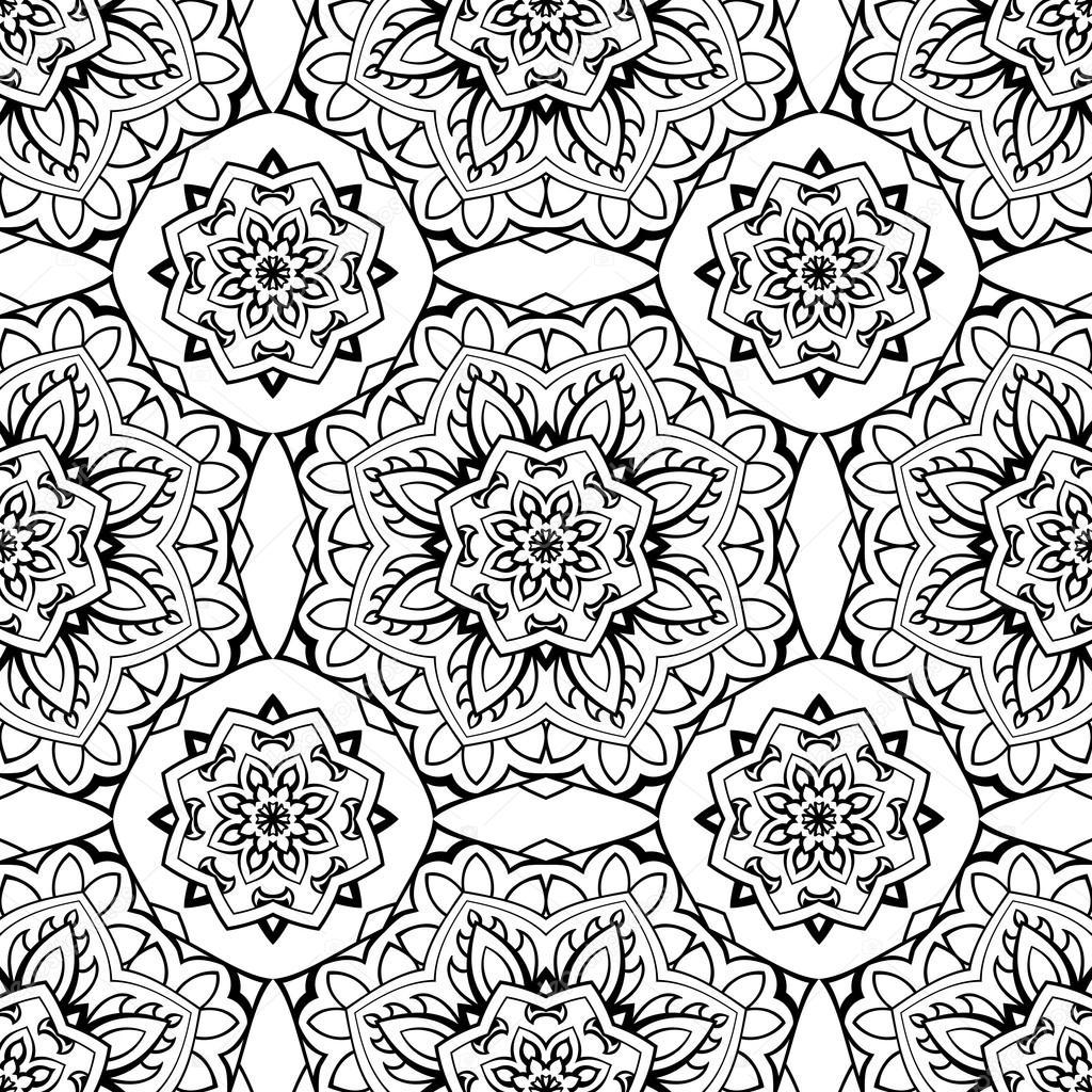 patrón sin costura tradicional — Vector de stock © matorinni #94356624
