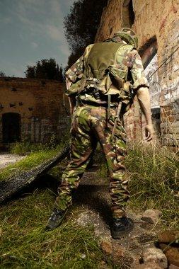 Guerilla soldier