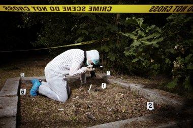 CSI - photographer criminologist