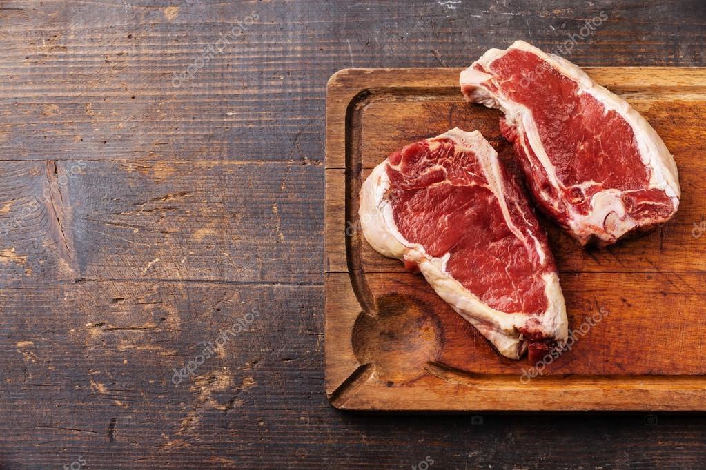 Raw fresh meat Ribeye Steak