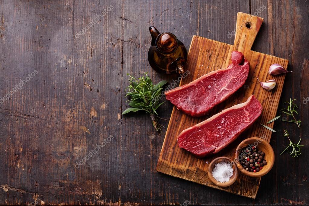 Meat Striploin steak