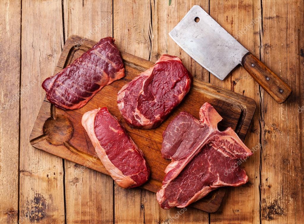 Fresh meat Steaks