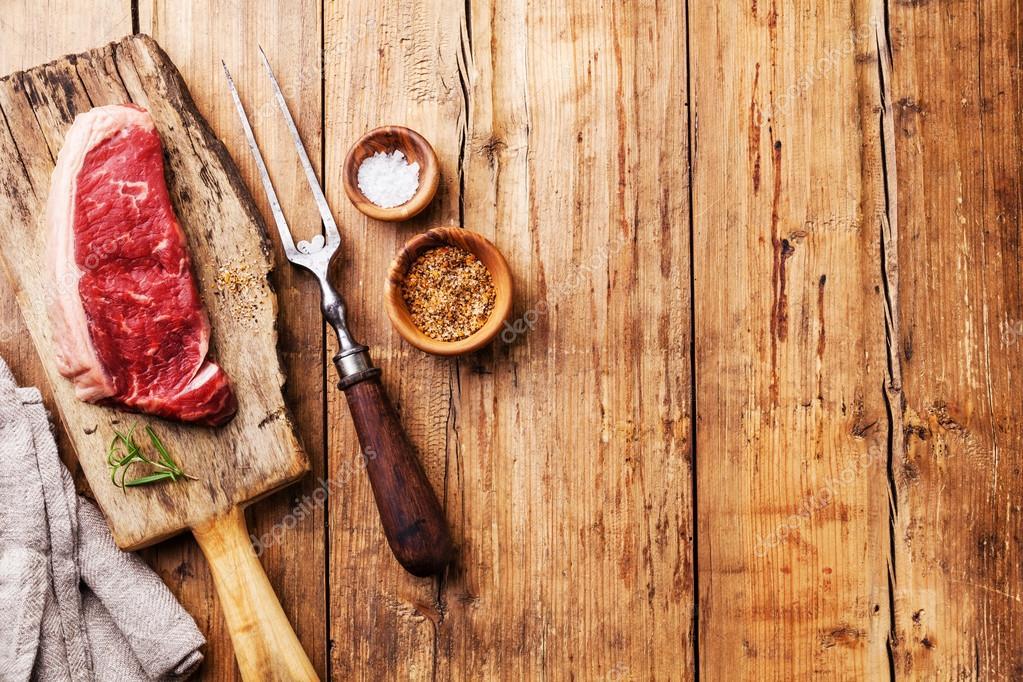 Fresh meat Striploin steak
