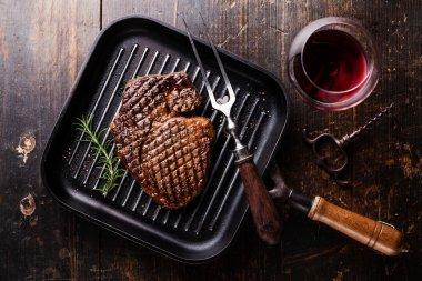 Grilled Black Angus Steak Ribeye