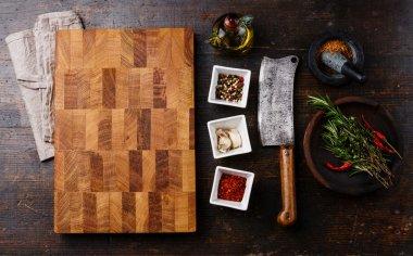 Chopping cutting kitchen board