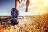 Outdoor cross-country running