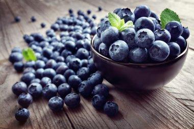 Blueberries antioxidant organic superfood