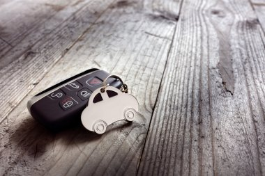 keyring and keyless entry remote