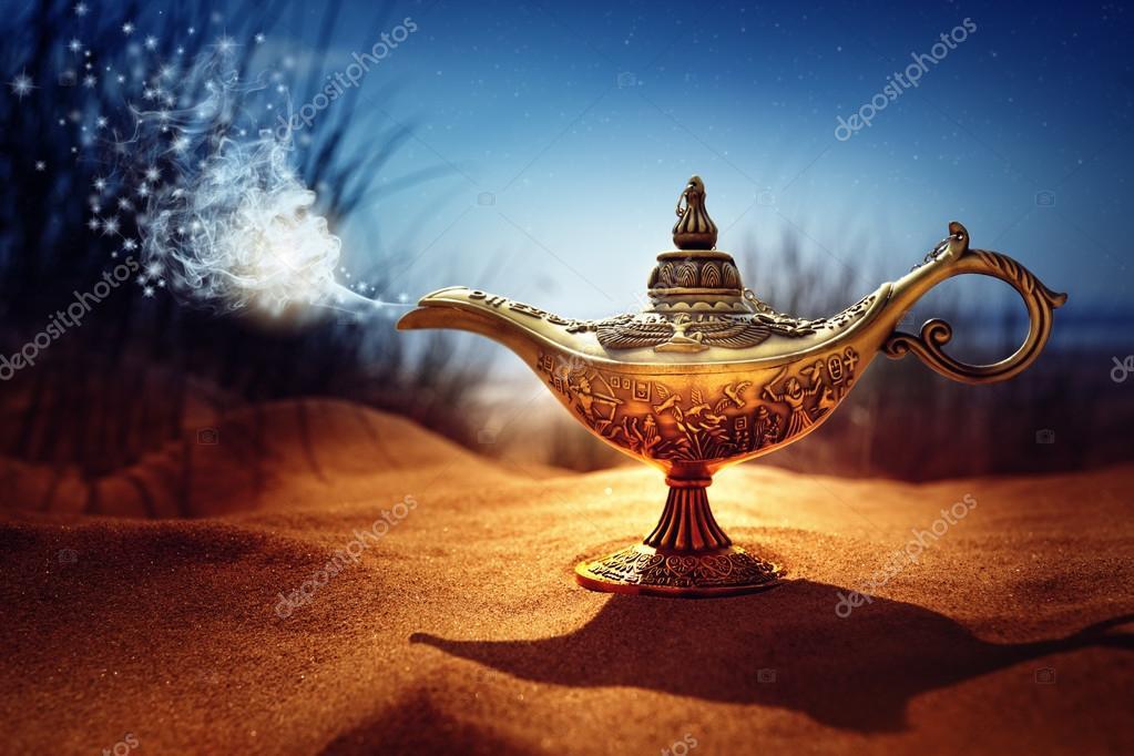 Lampada Magica Nel Deserto Foto Stock 169 Brianajackson