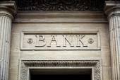 Fényképek Bank jel-ra épület