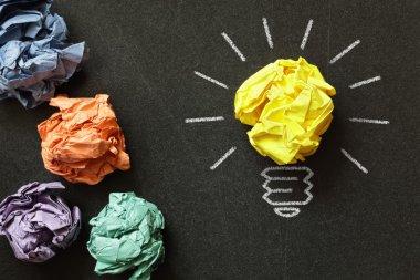 metaphor for choosing the best idea