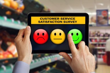 customer rating service satisfaction survey