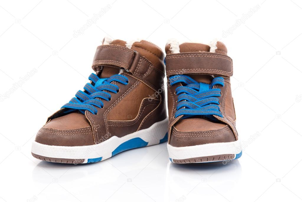 24370c528df9f8 Взуття підліткове, хлопчик — Стокове фото — колір © lufimorgan ...