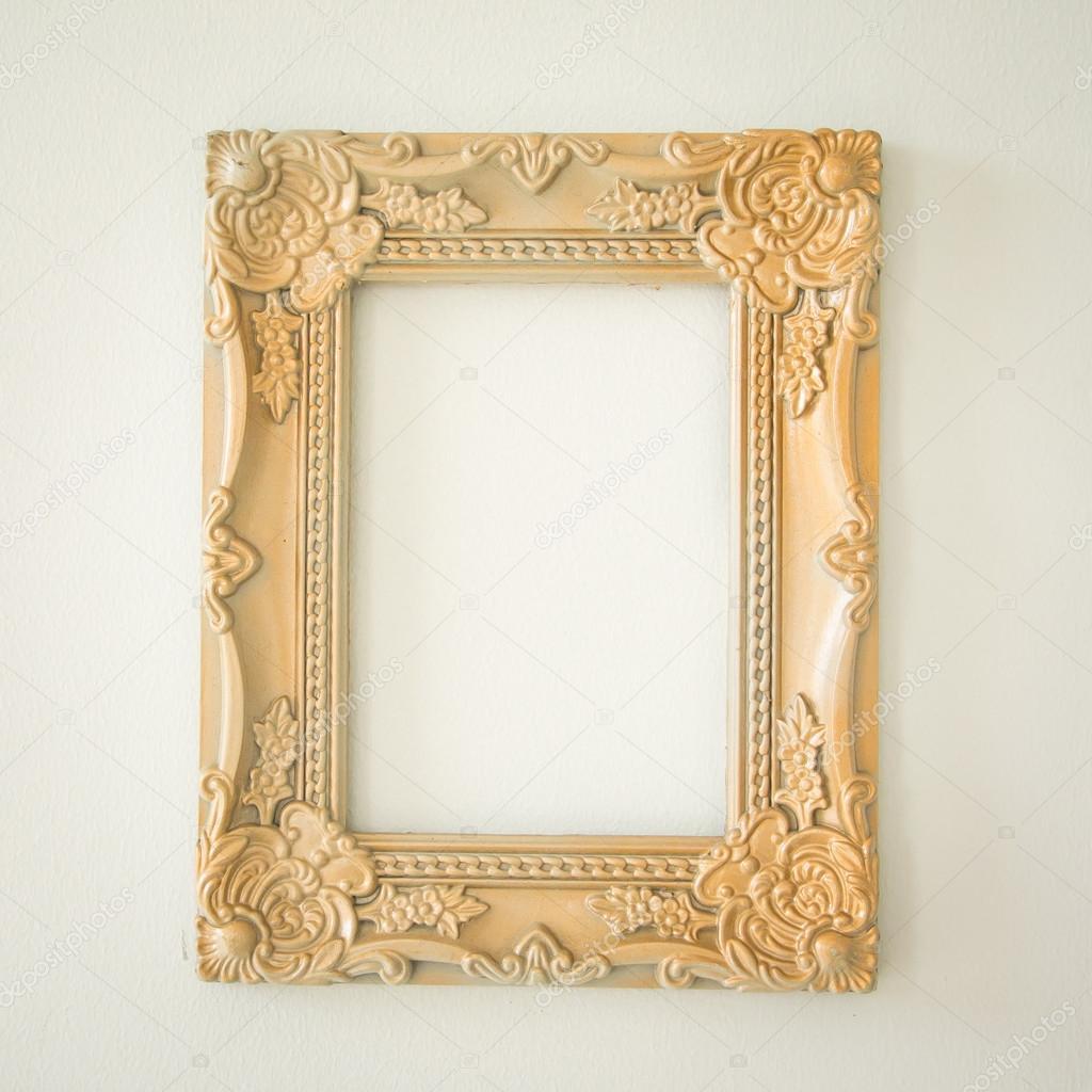 3cb82cd03ac Ornate golden frame — Stock Photo © lufimorgan  54965821