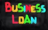 Podnikatelský úvěr koncept