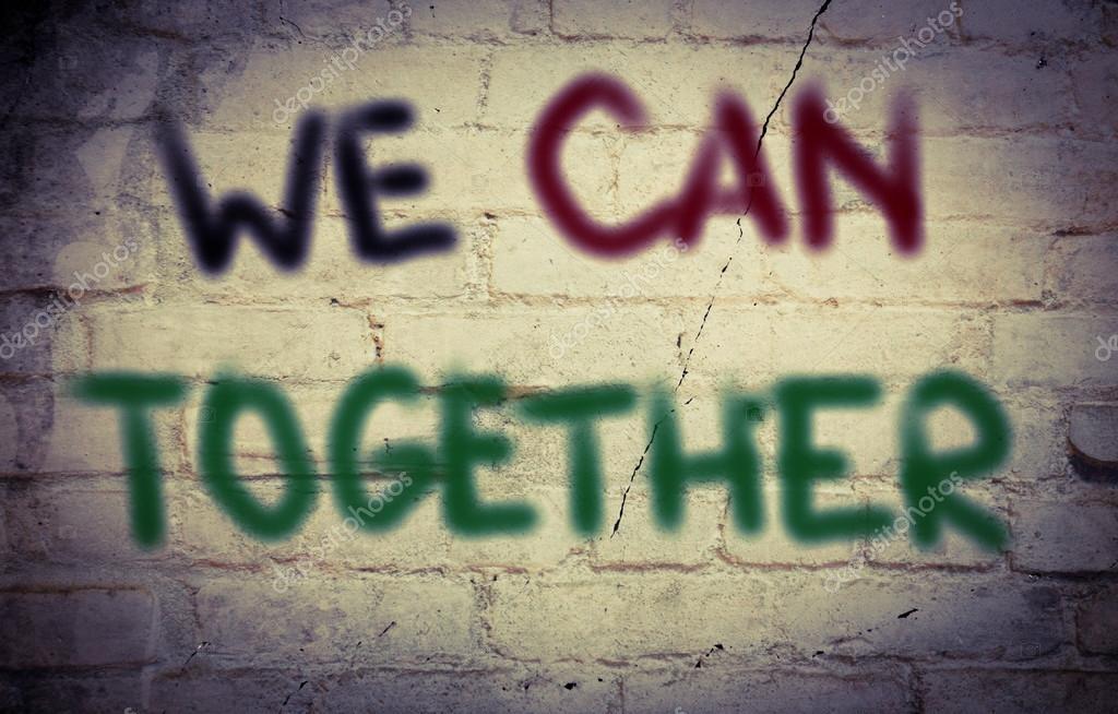 We kunnen samen Concept — Stockfoto © nevenova #85518014