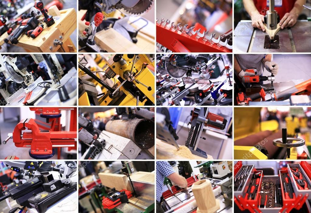 Industrial collage: imágenes, fotos de stock libres de derechos |  Depositphotos