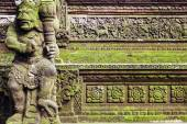 Traditional Balinese stone sculpture art and culture at Bali