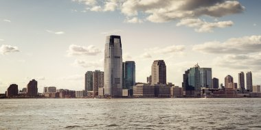 Skyline of downtown New York