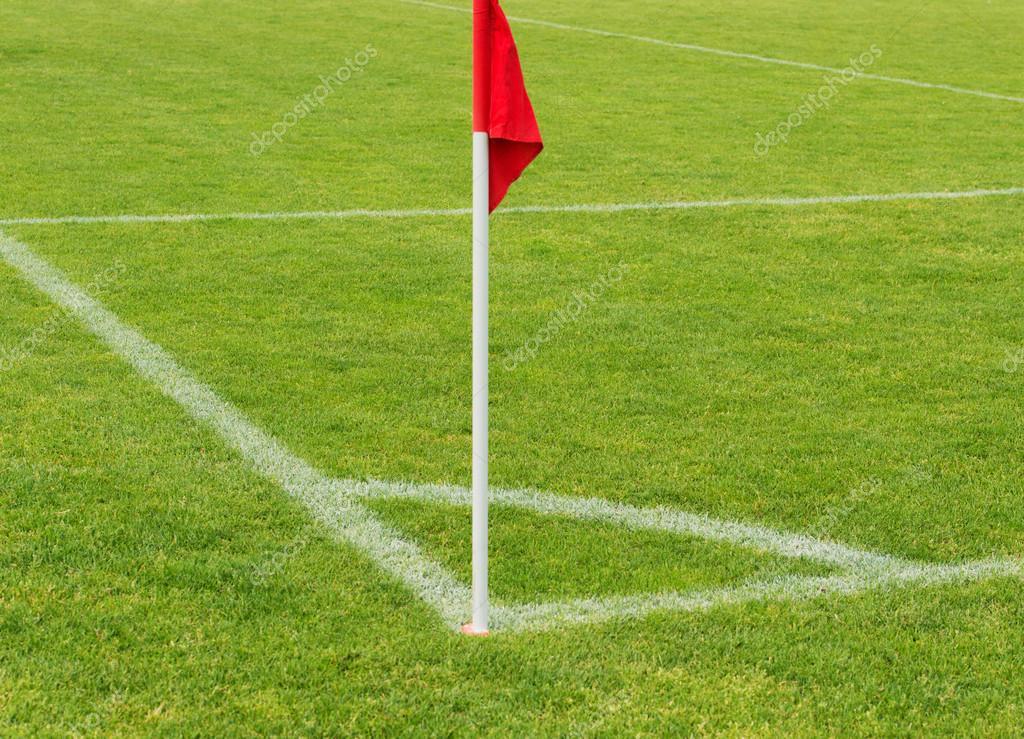 Ecke Fußball