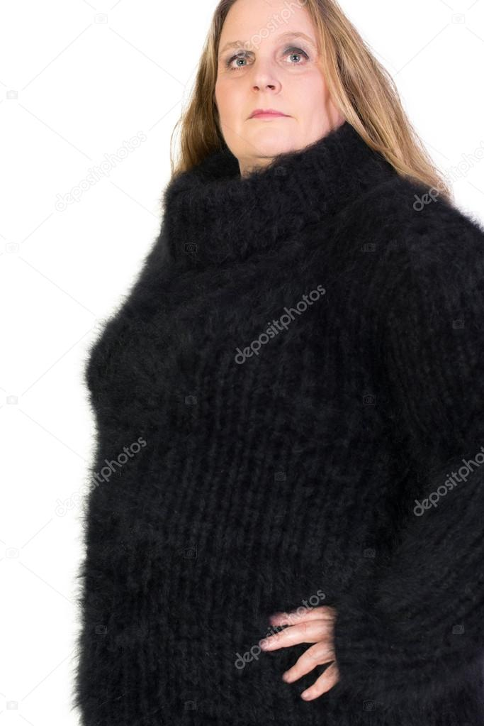 9794f980544a Turtleneck Angora Sweater — Stock Photo © vschlichting  57799027