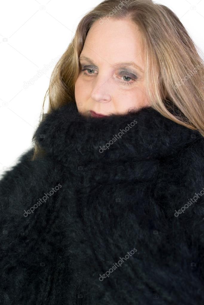 57827980cae1 Turtleneck Angora Sweater — Stock Photo © vschlichting  57965043